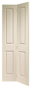 XL Joinery Internal White Moulded Victorian 4 Panel Bi-Fold